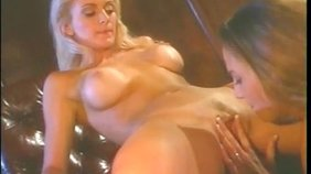 Two naughty girlfriends happily eating each other's juicy pussies