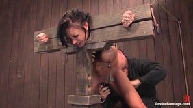 BDSM experience for a relentlessly submissive brunette girlfriend